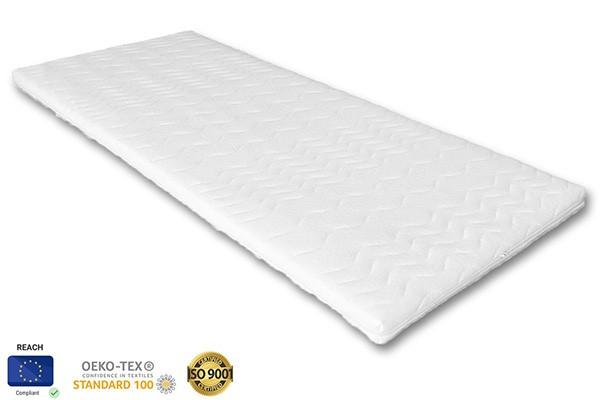 Alváskomfort érzet javításához segítség, mely puhítani tudja a matrac keménységét