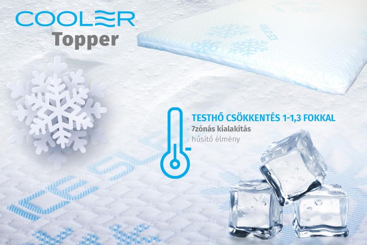 Cooler topper fedőmatrac