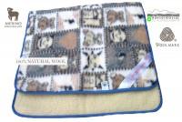 gyapjú derékalj  : 450g/m2 Woolmark Merino Bárány gyapjú gyermek derékalj