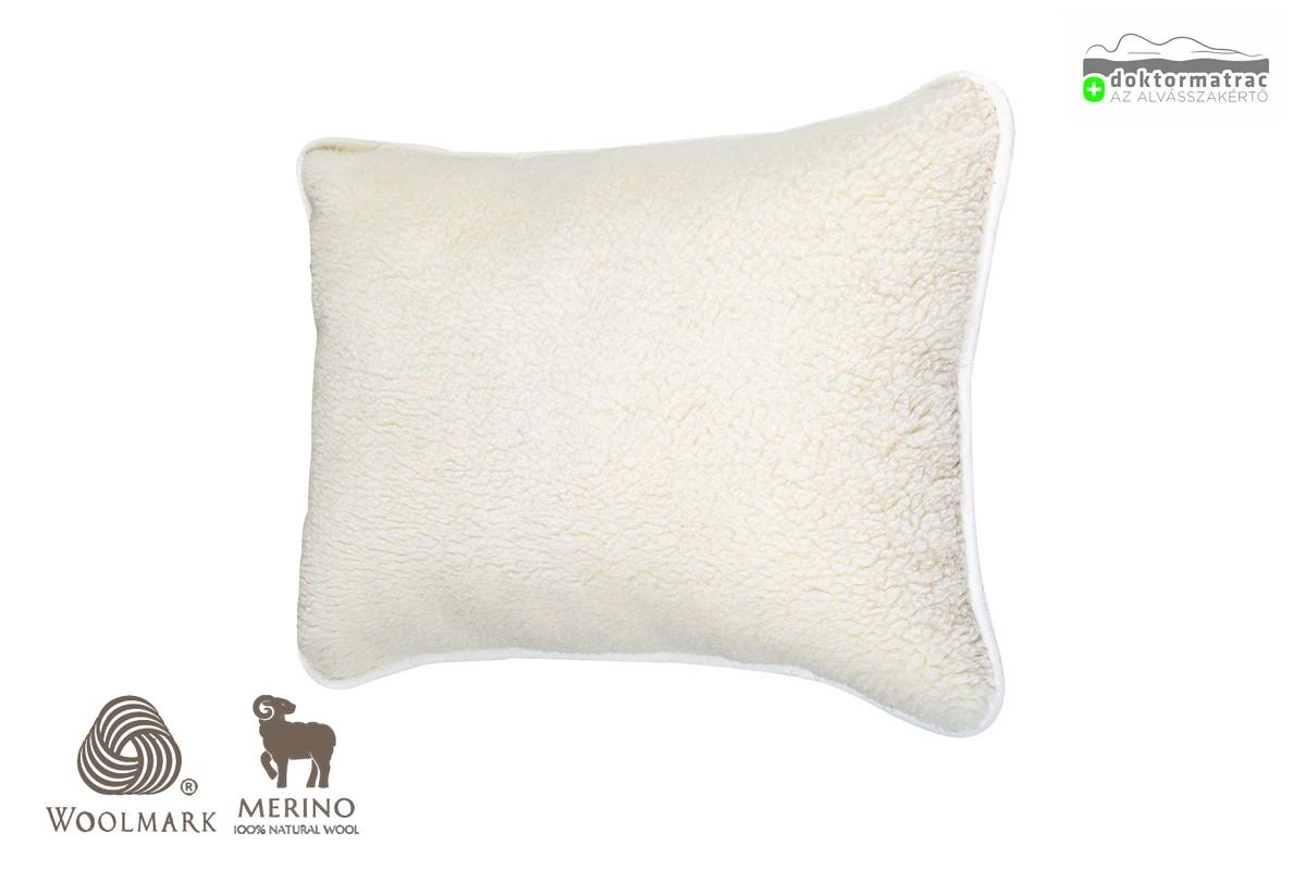Woolmark Merino Bárány 450g/m2 gyapjú párna